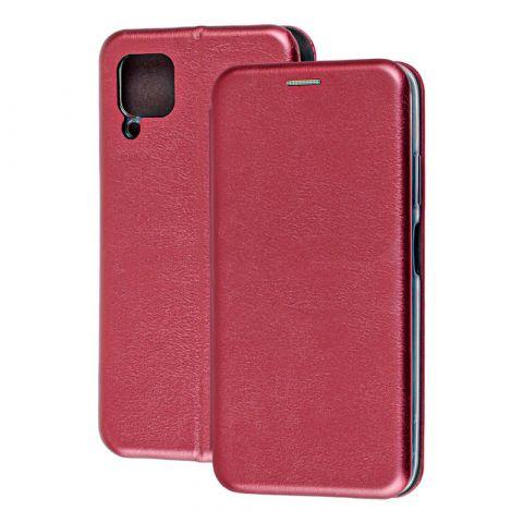Чехол-книжка для Huawei P40 Lite Premium-Bordo