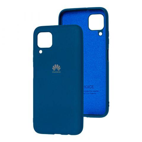 Чехол для Huawei P40 Lite Silicone Full-Blue