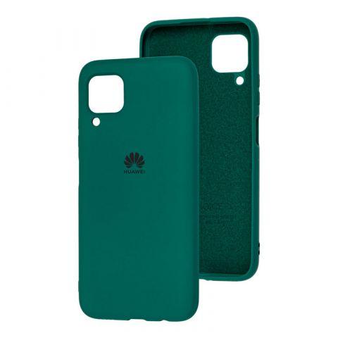 Чехол для Huawei P40 Lite Silicone Full-Pine Green