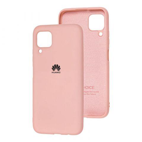 Чехол для Huawei P40 Lite Silicone Full-Pink Sand