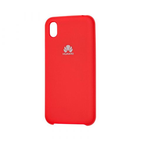 Чехол на Huawei Y5 2019 Soft Touch Silicone Cover-Dark Red