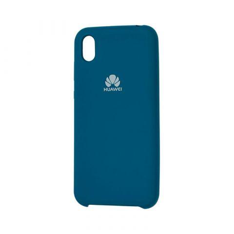 Чехол на Huawei Y5 2019 Soft Touch Silicone Cover-Ocean Blue