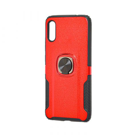 Противоударный чехол на Huawei Y6 2019 Deen Техно-Red