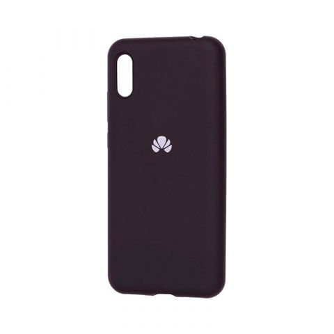 Чехол на Huawei Y6 2019 Silicone Full-Black