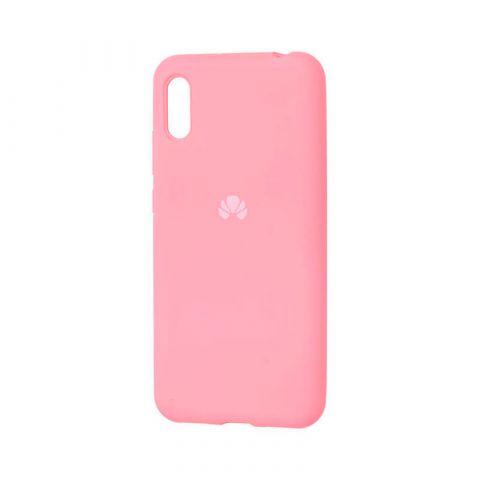 Чехол на Huawei Y6 2019 Silicone Full-Light Pink