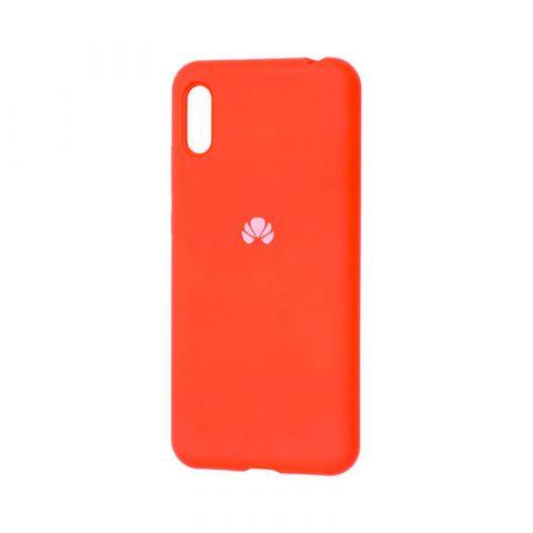 Чехол на Huawei Y6 2019 Silicone Full-Orange
