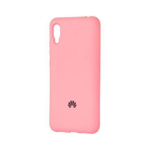 Чехол на Huawei Y6 2019 Silicone Full-Pink