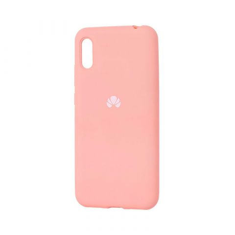Чехол на Huawei Y6 2019 Silicone Full-Pink Sand