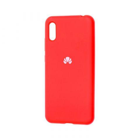 Чехол на Huawei Y6 2019 Silicone Full-Red