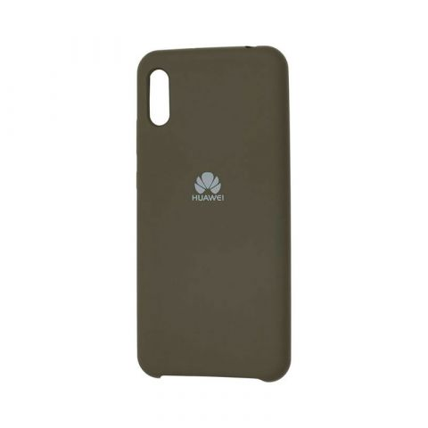 Чехол на Huawei Y6 2019 Soft Touch Silicone Cover-Dark Olive