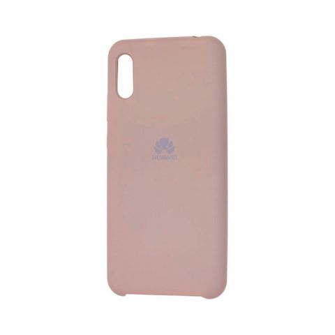 Чехол на Huawei Y6 2019 Soft Touch Silicone Cover-Gray