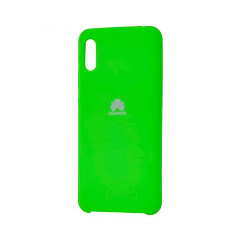 Чехол на Huawei Y6 2019 Soft Touch Silicone Cover-Green