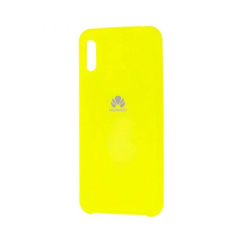 Чехол на Huawei Y6 2019 Soft Touch Silicone Cover-Lemonade