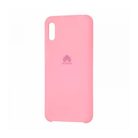 Чехол на Huawei Y6 2019 Soft Touch Silicone Cover-Light Pink
