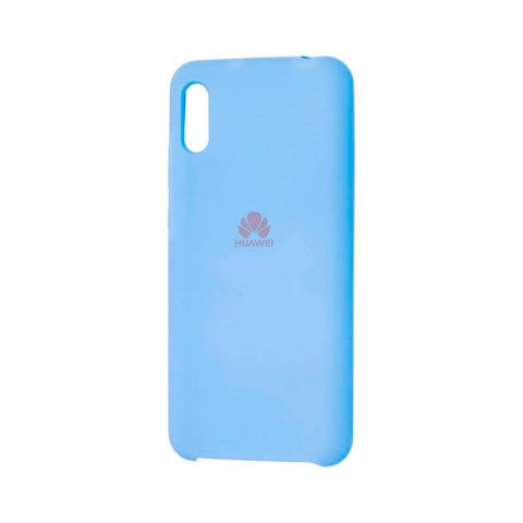 Чехол на Huawei Y6 2019 Soft Touch Silicone Cover-Lilac
