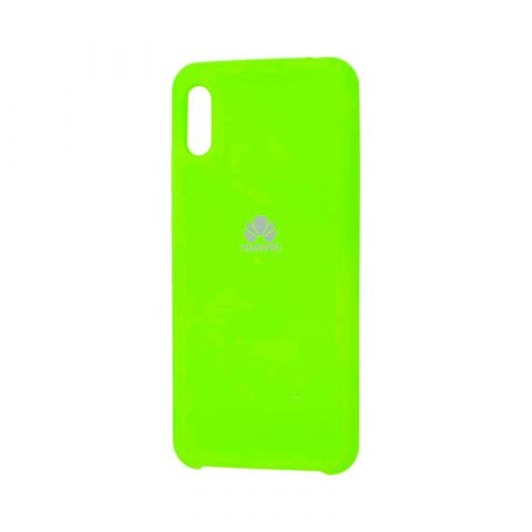 Чехол на Huawei Y6 2019 Soft Touch Silicone Cover-Lime
