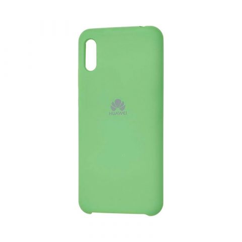 Чехол на Huawei Y6 2019 Soft Touch Silicone Cover-Mint