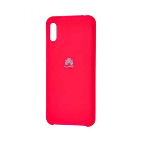 Чехол на Huawei Y6 2019 Soft Touch Silicone Cover-Rose Red