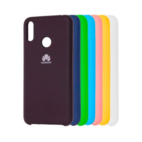 Чехол на Huawei Y7 2019 Soft Touch Silicone Cover