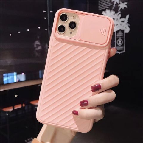 Чехол для iPhone 11 Multi-Colored camera protect (с защитой камеры)-Pink
