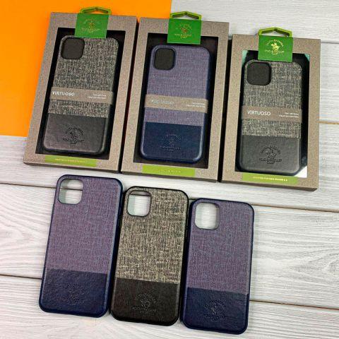 Кожаный чехол для iPhone 11 Pro Max Polo Virtuoso Leather Case