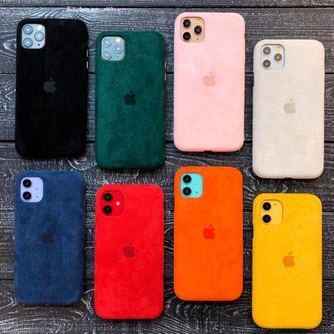 Замшевый чехол для iPhone 11 Pro Alcantara