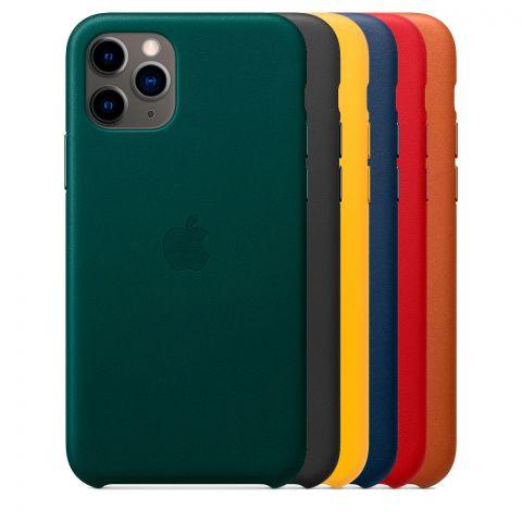 Кожаный чехол для iPhone 11 Pro Leather Case
