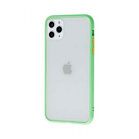 Чехол для iPhone 11 Pro LikGus Maxshield-Light Green