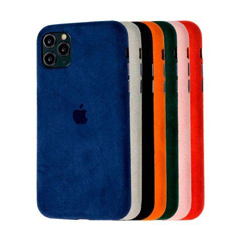 Замшевый чехол для iPhone 11 Pro Max Alcantara