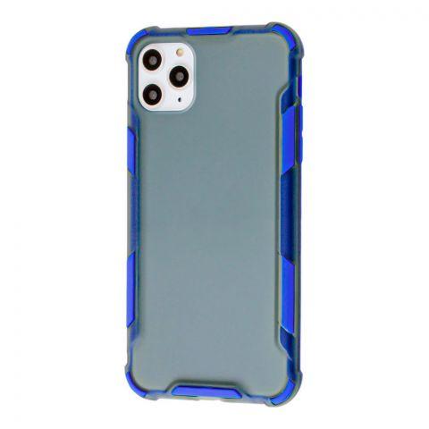 Противоударный чехол для iPhone 11 Pro Max LikGus Armor Color-Blue