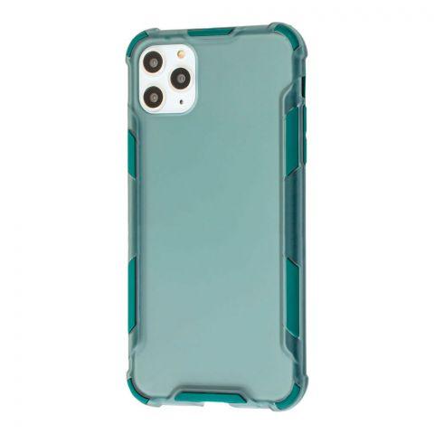 Противоударный чехол для iPhone 11 Pro Max LikGus Armor Color-Green