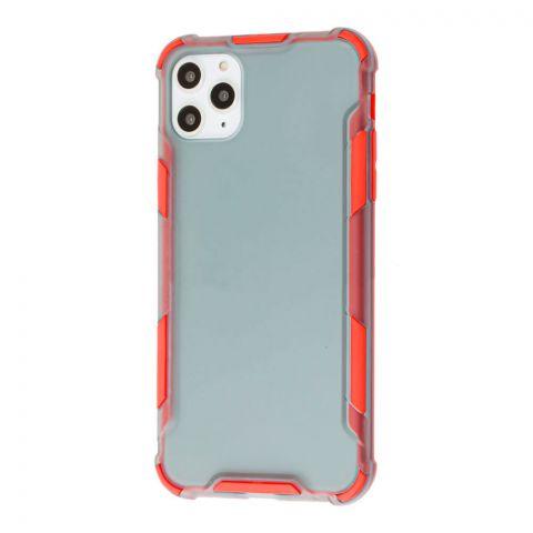 Противоударный чехол для iPhone 11 Pro Max LikGus Armor Color-Red