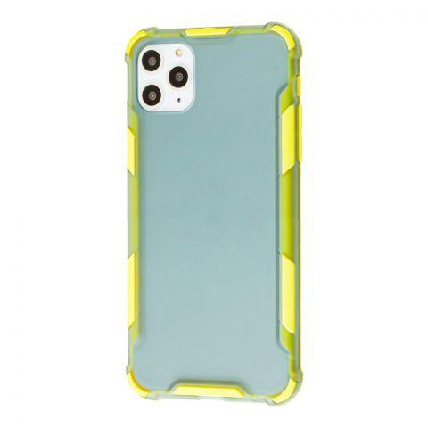 Противоударный чехол для iPhone 11 Pro Max LikGus Armor Color-Yellow