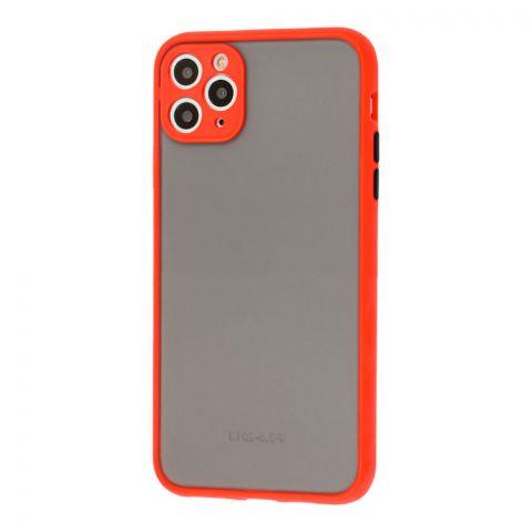 Чехол для iPhone 11 Pro Max LikGus Totu с защитой камеры-Red