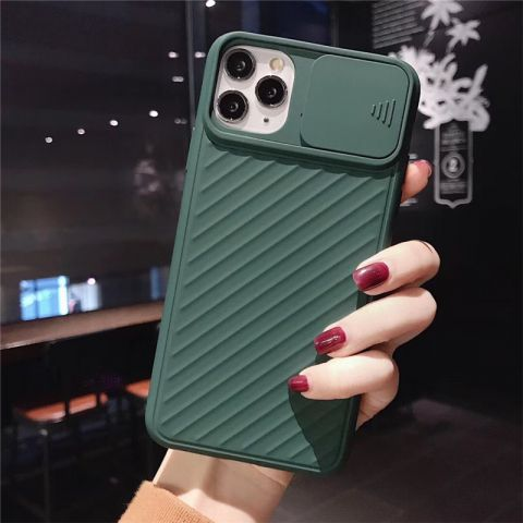 Чехол для iPhone 11 Pro Max Multi-Colored camera protect (с защитой камеры)-Pine Green