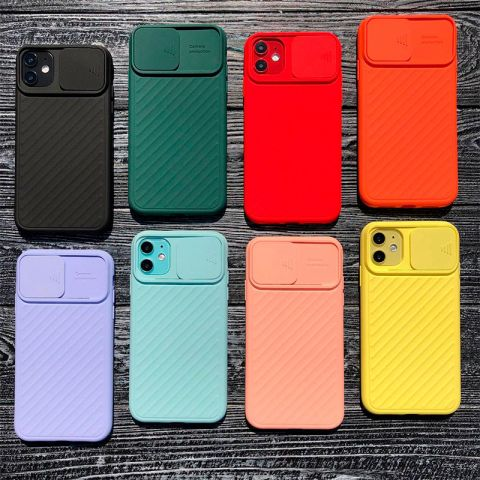 Чехол для iPhone 11 Pro Max Multi-Colored camera protect (с защитой камеры)