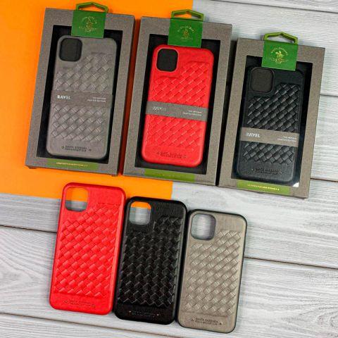 Кожаный чехол для iPhone 11 Polo Ravel Leather Case