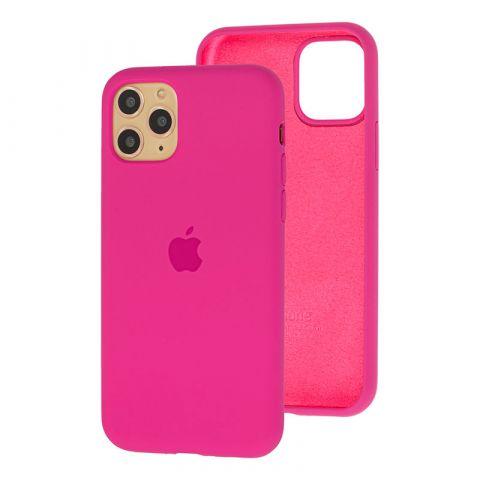 Силиконовый чехол для iPhone 11 Pro Max Silicone Case Full (с закрытой нижней частью)-Dragon Fruit