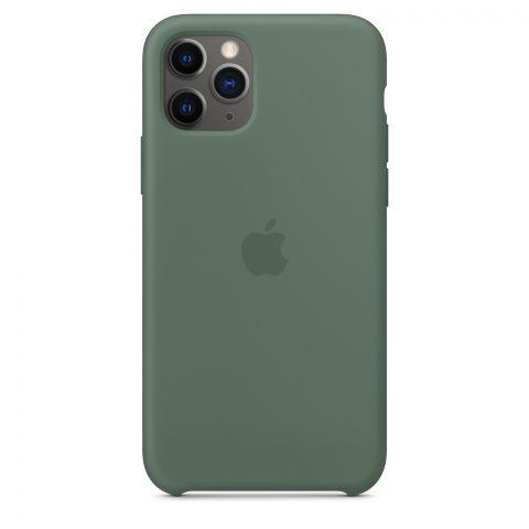Силиконовый чехол для iPhone 11 Pro Max Silicone Case-Pine Green