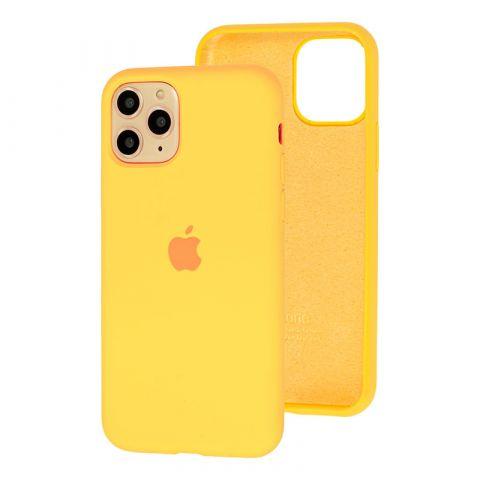 Силиконовый чехол для iPhone 11 Pro Silicone Case Full (с закрытой нижней частью)-Flash