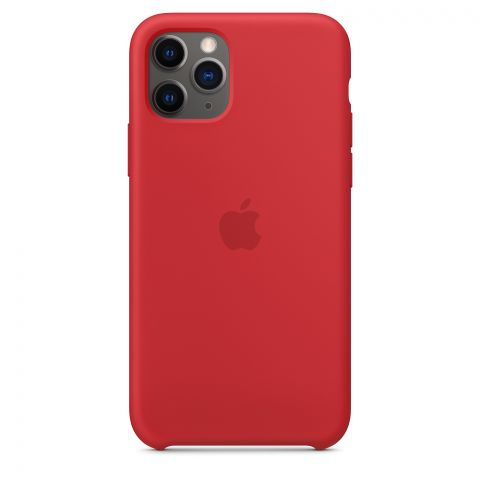 Силиконовый чехол для iPhone 11 Pro Silicone Case-Red