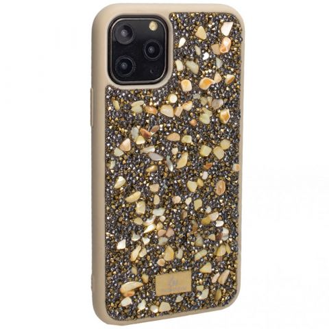 Чехол для iPhone 11 с камнями The Bling World Stone-Gold