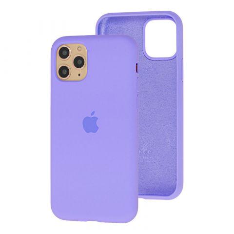 Силиконовый чехол для iPhone 11 Silicone Case Full (с закрытой нижней частью)-Glycine