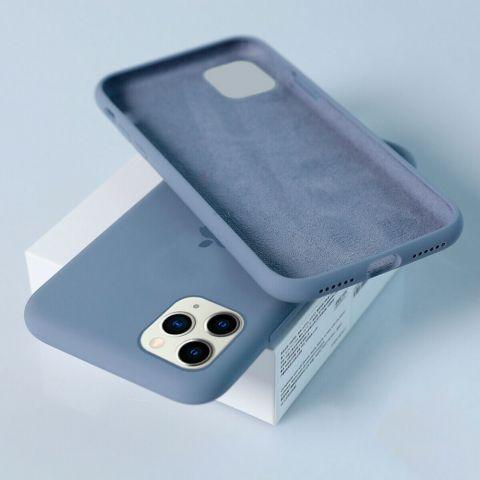 Силиконовый чехол для iPhone 11 Pro Silicone Case Full (с закрытой нижней частью)