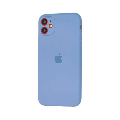 Чехол для iPhone 11 Silicone Slim Full-Lavender Gray