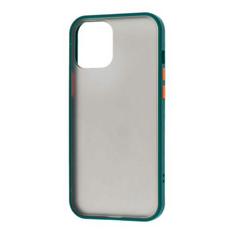 Чехол для iPhone 12 / 12 Pro LikGus Maxshield-Dark Olive