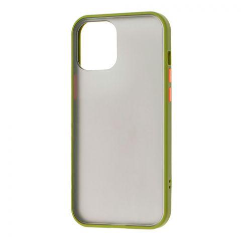 Чехол для iPhone 12 / 12 Pro LikGus Maxshield-Green