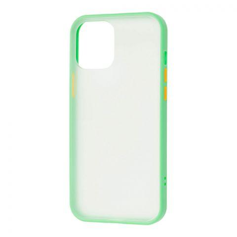 Чехол для iPhone 12 / 12 Pro LikGus Maxshield-Mint