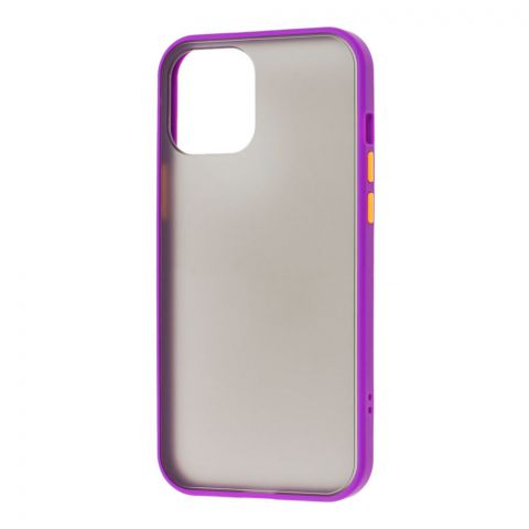 Чехол для iPhone 12 / 12 Pro LikGus Maxshield-Violet