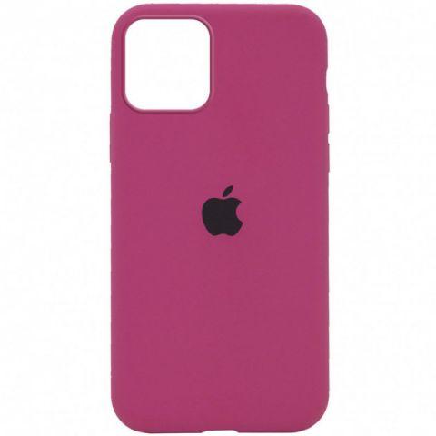 Силиконовый чехол для iPhone 12 / 12 Pro Silicone Case Full (с закрытой нижней частью)-Dragon Fruit